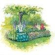 Отдых в домиках со сруба - иконка «сад» в Джубге